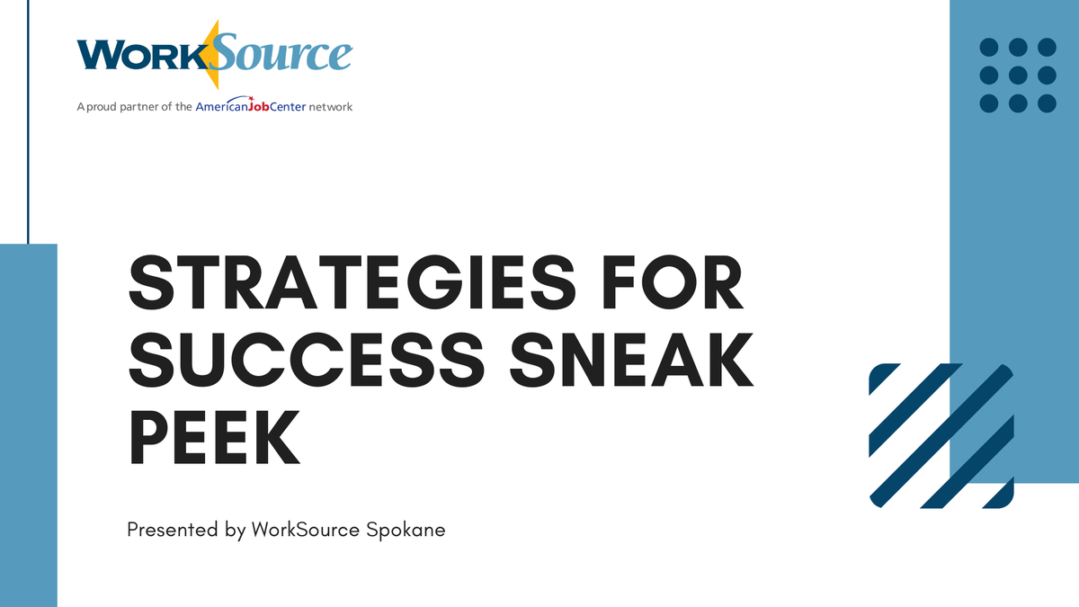Strategies for Success title image